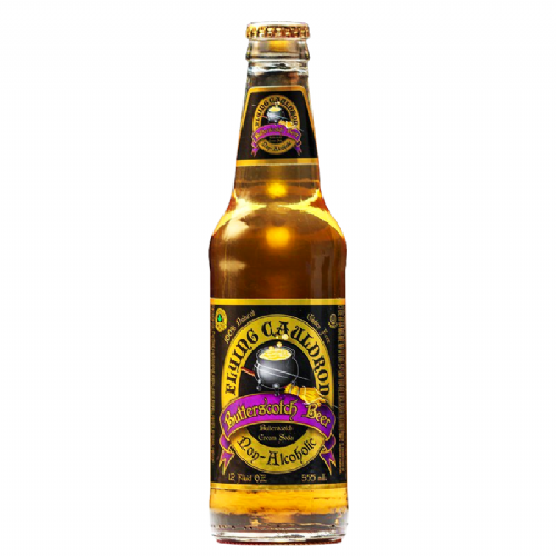 Flying Cauldron Butterscotch Beer Soda 12oz (355ml) (US)